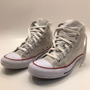 Converse | W 8 | Canvas Hightop White Chucks